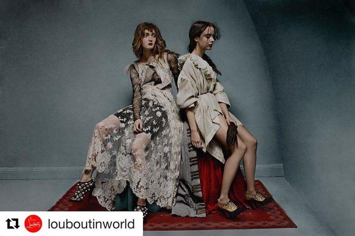 Mια 23χρονη από την Κρήτη έγινε «μούσα» του Louboutin και ποζάρει στη Vogue - εικόνα 4