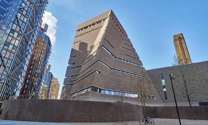 1. Tate Modern Switch House, London, by Herzog & de Meuron