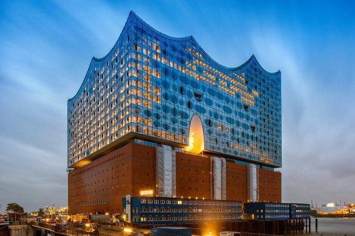 3. Hamburg Elbphilharmonie, by Herzog & de Meuron