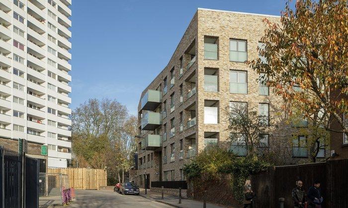 5. Bacton Estate, London, by Karakusevic Carson
