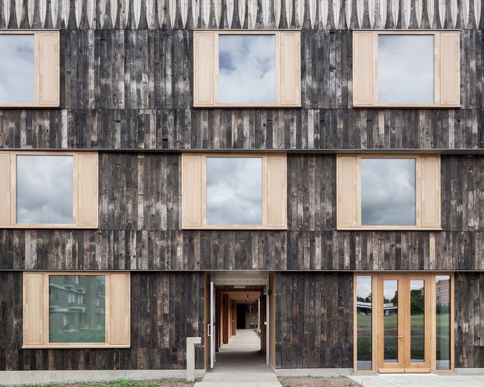 8. Cowan Court at Churchill College, Cambridge, by 6a Architects