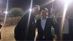 O Tσίπρας «λυγίζει» κουτάλια με τον Γιούρι Γκέλερ στο Ισραήλ-φωτο