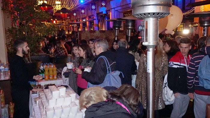 Ασφυκτικά γεμάτο το City Link την ώρα του Pasta Party