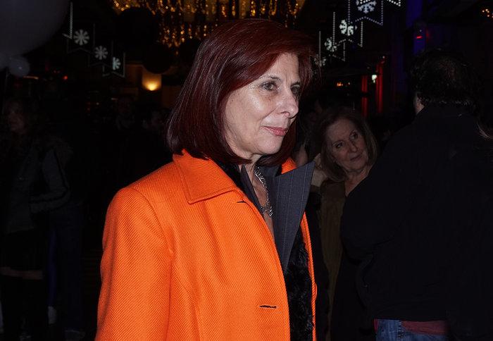 Η πρόεδρος του Πανελληνίου Συνδέσμου Αιθουσών Τέχνης, Γιάννα Γραμματοπούλου