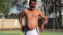 """Ο Ινδός """"Ρονάλντο"""" που """"γκρέμισε"""" τα social media"""