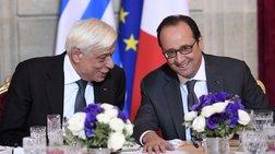 Παυλόπουλος σε Ολάντ: Να υπερασπισθούμε το μέλλον της Ε.Ε.
