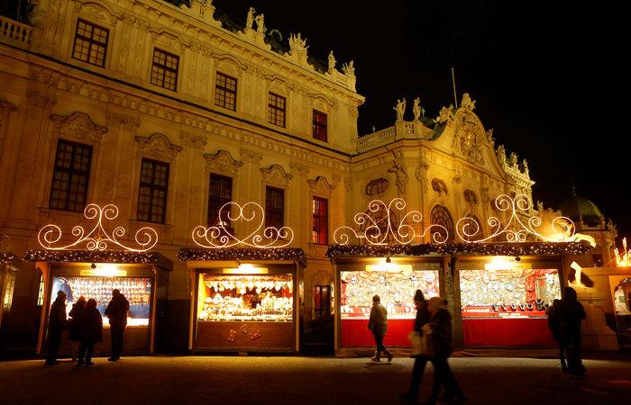 Ντυμένη γιορτινά, η Βιέννη υποδέχεται τα Χριστούγεννα - εικόνα 5