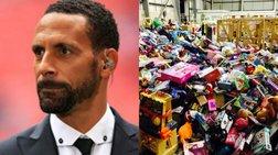 Δώρα αξίας 500.000 λιρών από τον Ρίο Φέρντιναντ σε παιδιά