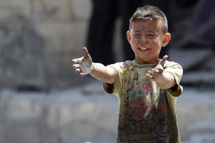Η προσφυγιά μέσα από συγκλονιστικά παιδικά πορτρέτα