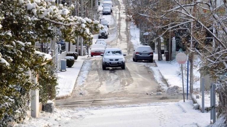 Αποτέλεσμα εικόνας για Χιόνια, χαμηλές θερμοκρασίες και παγετός