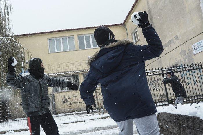 16 υπέροχες φωτογραφίες από την χιονισμένη Αρναία Χαλκιδικής - εικόνα 2