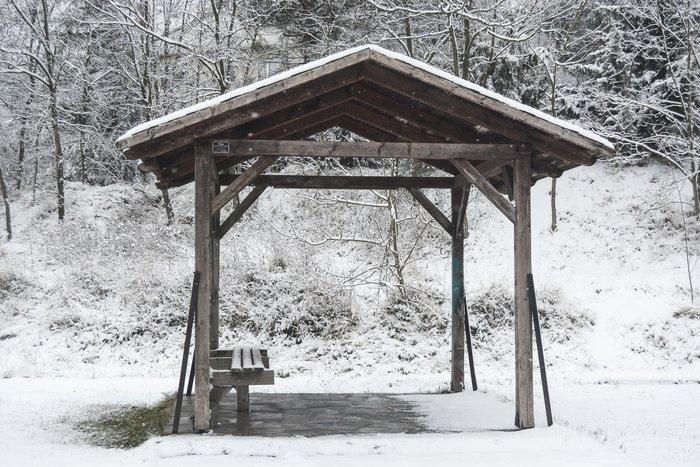 16 υπέροχες φωτογραφίες από την χιονισμένη Αρναία Χαλκιδικής - εικόνα 4