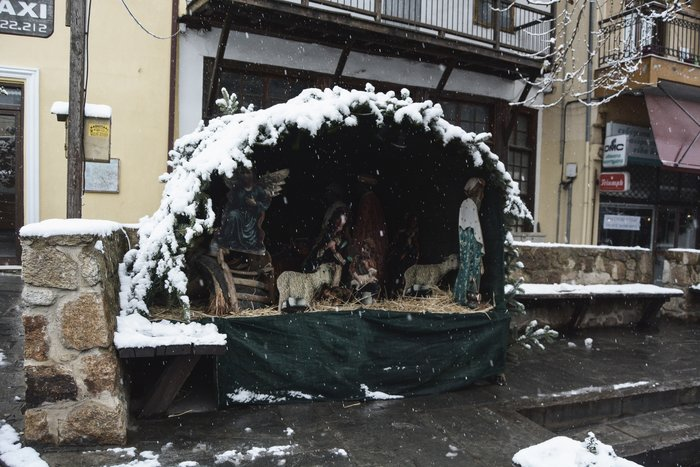 16 υπέροχες φωτογραφίες από την χιονισμένη Αρναία Χαλκιδικής - εικόνα 5