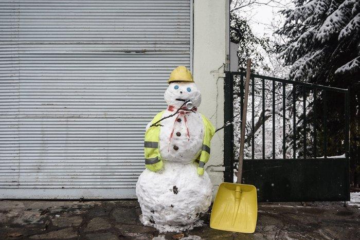 16 υπέροχες φωτογραφίες από την χιονισμένη Αρναία Χαλκιδικής - εικόνα 9