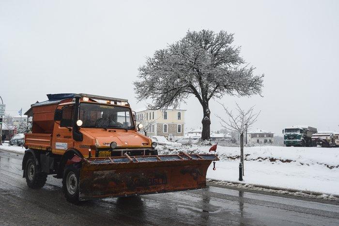 16 υπέροχες φωτογραφίες από την χιονισμένη Αρναία Χαλκιδικής - εικόνα 11