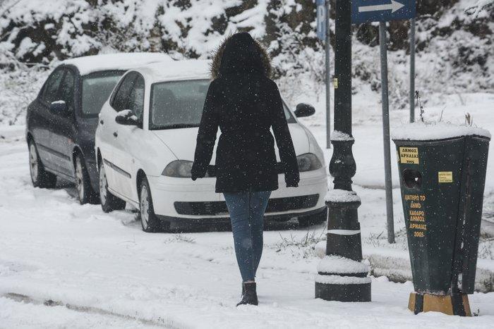 16 υπέροχες φωτογραφίες από την χιονισμένη Αρναία Χαλκιδικής - εικόνα 14