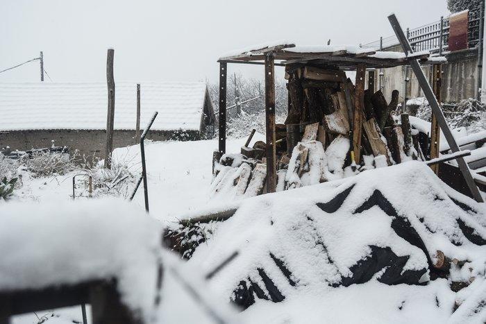 16 υπέροχες φωτογραφίες από την χιονισμένη Αρναία Χαλκιδικής - εικόνα 16