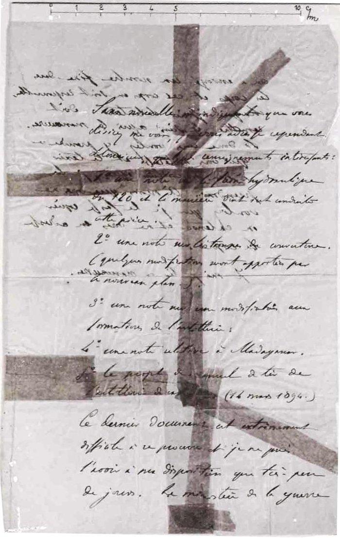 Το περίφημο μπορντερό που έστειλε φυλακή τον Ντρέιφους