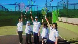 Τουρνουά τέννις για παιδιά από το Tennis Masters