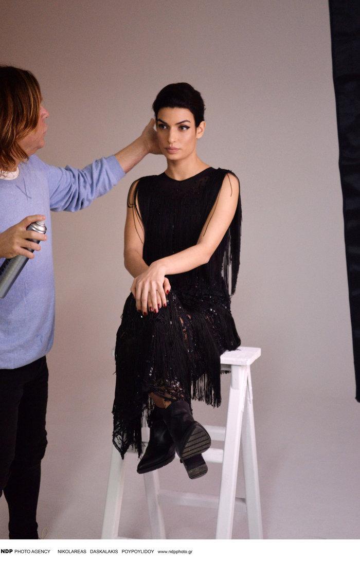 Η Τόνια Σωτηροπούλου backstage στην πιο σέξι φωτογράφηση - εικόνα 8