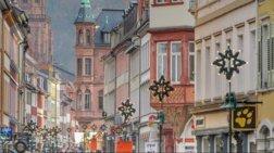 Χριστούγεννα στην Χαϊδελβέργη, τη μαγική πόλη όπου ο χρόνος δεν κυλάει