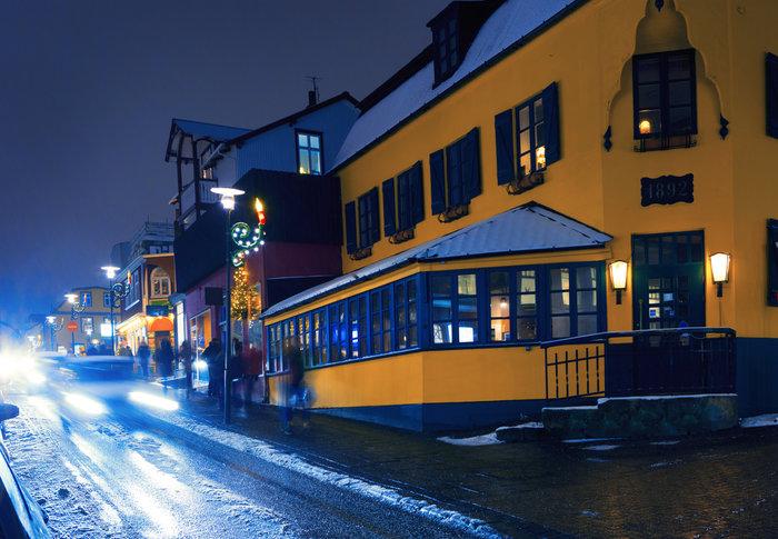Υπέροχα Χριστούγεννα στο Ρέικιαβικ της Ισλανδίας.