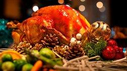 Λαχταριστή γεμιστή γαλοπούλα για το τραπέζι των Χριστουγέννων