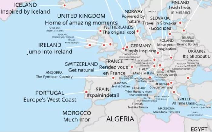 Telegraph: Τα καλύτερα τουριστικά σλόγκαν-Σε ποια θέση είναι η Ελλάδα