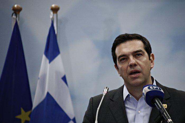 Ο έλληνας πρωθυπουργός Αλέξης Τσίπρας