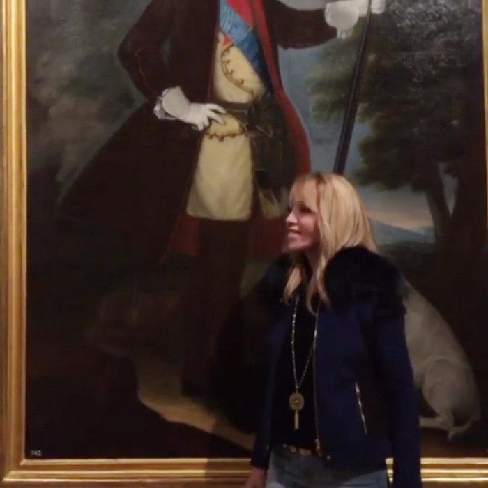 Η Ελληνίδα πριγκίπισσα μας ξεναγεί στο μεγαλοπρεπές παλάτι της Μαδρίτης - εικόνα 5