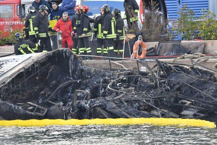Ιταλία: Τρεις γερμανοί τουρίστες κάηκαν ζωντανοί σε ιστιοπλοϊκό - εικόνα 2