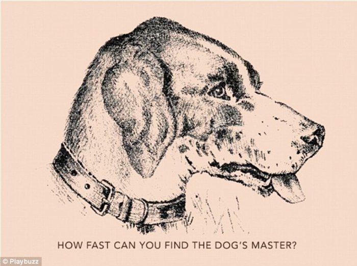 Πόσο γρήγορα μπορείτε να βρείτε το αφεντικό του σκύλου-το κουιζ που σαρώνει