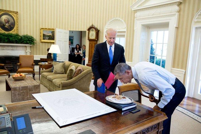 Πιτ Σόουζα για Ομπάμα:Ηταν τιμή να είμαι μάρτυρας της ιστορίας για 8 χρόνια - εικόνα 11