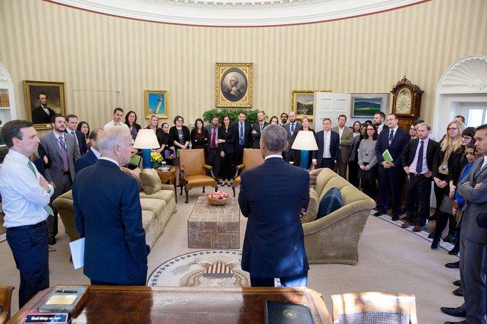 Πιτ Σόουζα για Ομπάμα:Ηταν τιμή να είμαι μάρτυρας της ιστορίας για 8 χρόνια - εικόνα 17