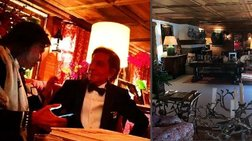 Ηλίας Ψινάκης: Πρωτοχρονιά στο Γκστάαντ με τον Valentino και τη Μαντόνα