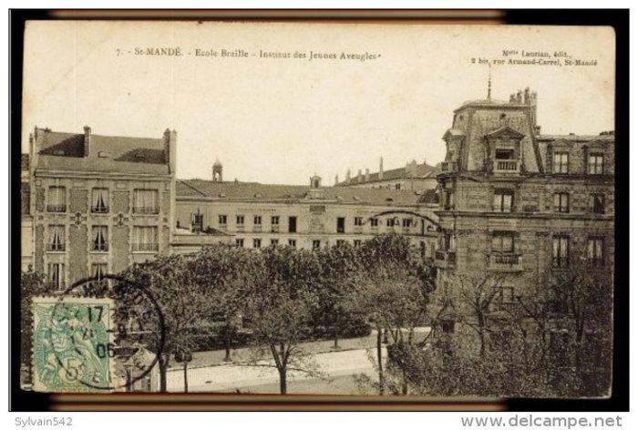 Ινστιτούτο Νέων Τυφλών, Παρίσι, 1906