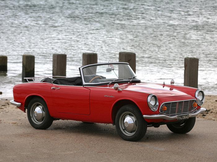 Το πρώτο roadster της Honda, S600 του 1964