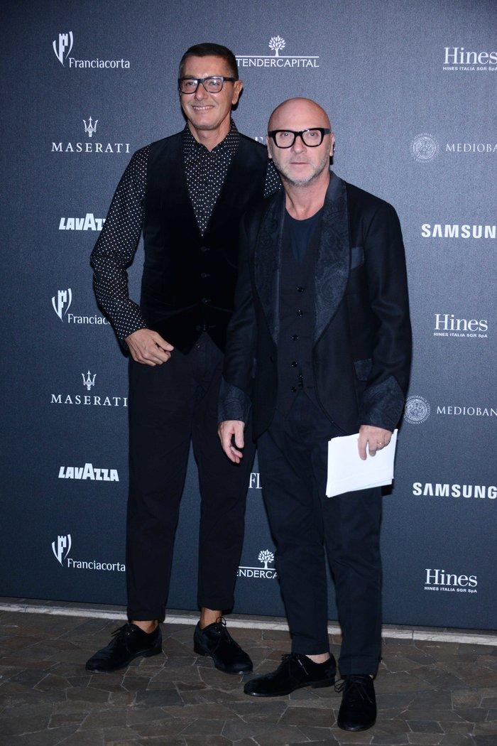 Ο Domenico Dolce και ο Stefano Gabbana των Dolce & Gabbana