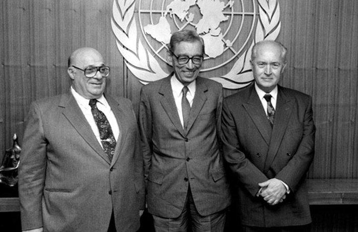Κυπριανού-Ντενκτάς στον ΟΗΕ