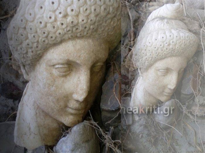 Η κακοκαιρία «ξέθαψε» αρχαιολογικό θησαυρό στην Κρήτη