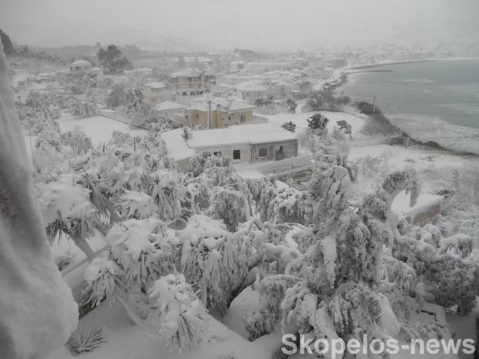Η κατάσταση όπως ήταν στη Σκόπελο.