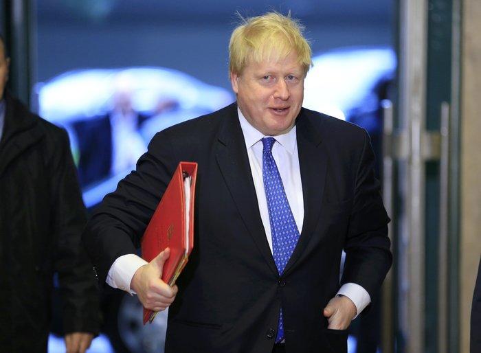 Ο βρετανός υπουργός Εξωτερικών Μπόρις Τζόνσον