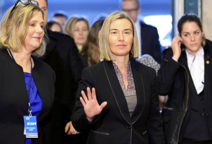 Η ύπατη εκπρόσωπος Εξωτερικής Πολιτικής και Πολιτικής Ασφάλειας της ΕΕ Φ. Μογκερίνι