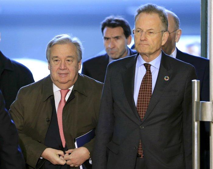 Ο ΓΓ των Ηνωμένων Εθνών Αντόνιο Γκουτιέρες