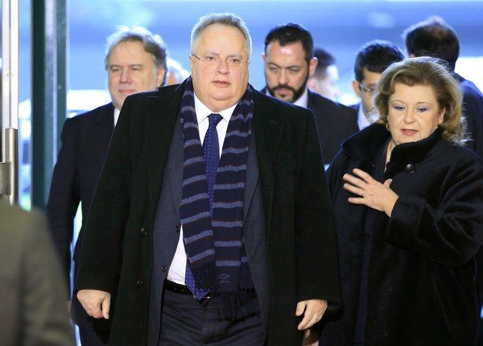 Ο έλληνας υπουργός Εξωτερικών Νίκος Κοτζιάς