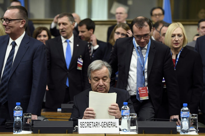 Ο ΓΓ του ΟΗΕ Αντόνιο Γκουτιέρες