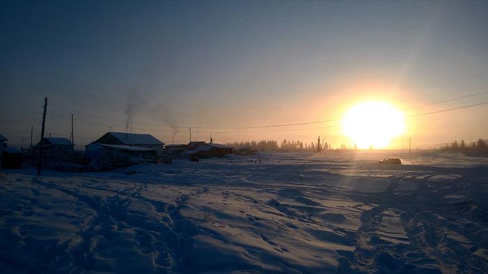Το χωριό με την πιο χαμηλή θερμοκρασία στον κόσμο-Στους - 71,2 βαθμόυς