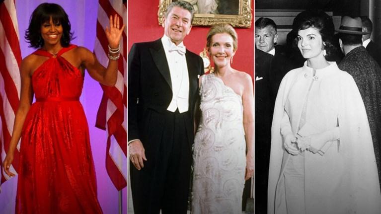 Τα θρυλικά φορέματα των Πρώτων Κυριών της Αμερικής από το 1909 μέχρι σήμερα