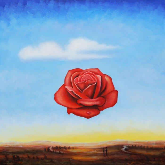 he Meditative Rose