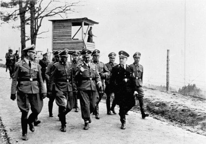 Επίσκεψη του Χάινριχ Χίμλερ στο Μαουτχάουζεν